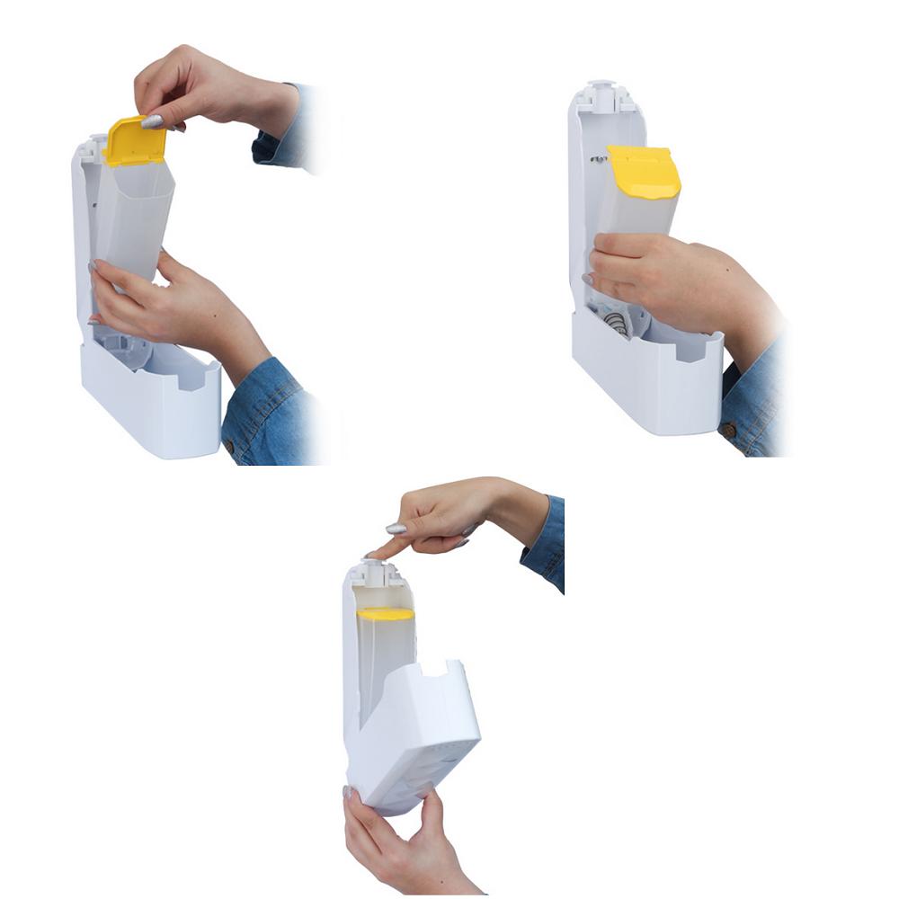 جا مایع دستشویی دیواری مدل Kenzo