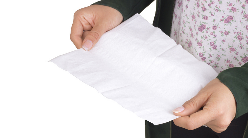 دستمال کاغذی حوله ای فله ای 300 برگی