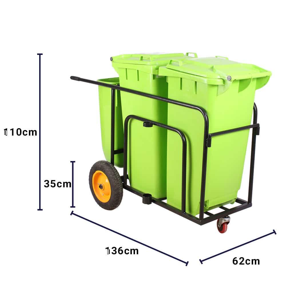 چرخ دستی حمل زباله مدل 8400